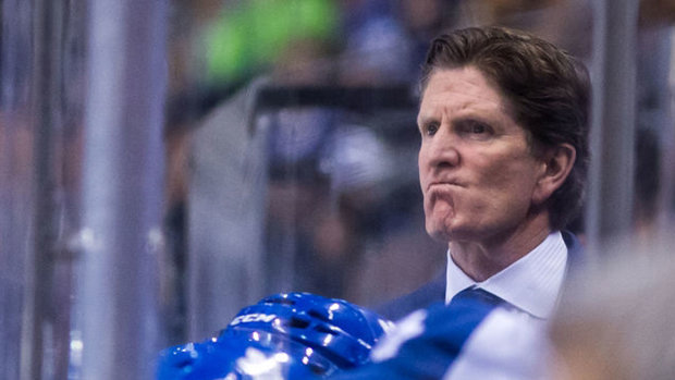 Babcock unimpressed with ref after Marleau tossed from faceoff