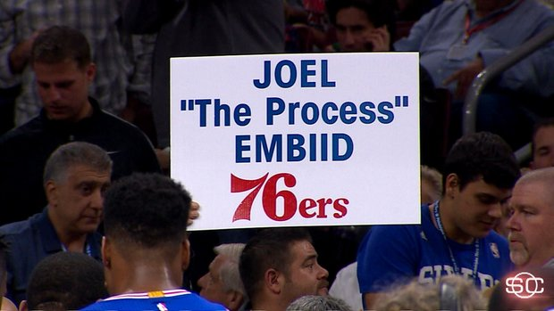 Embiid embraces the process
