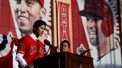 Report: Ohtani has damaged UCL