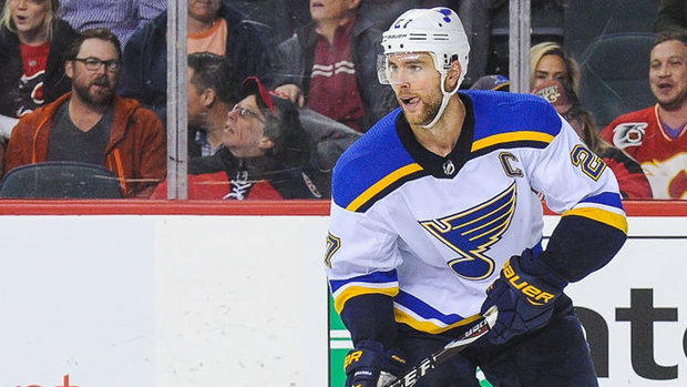 Blues place Pietrangelo on IR; Perry week-to-week with LBI