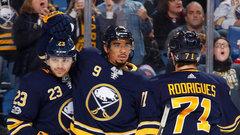 NHL: Senators 2, Sabres 3