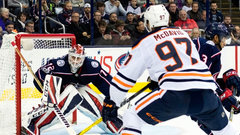 NHL: Oilers 7, Blue Jackets 2