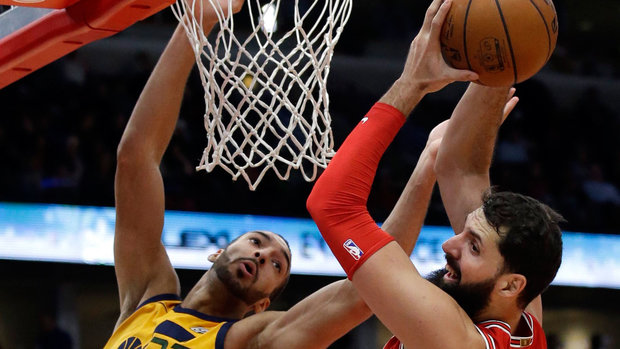 NBA: Jazz 100, Bulls 103