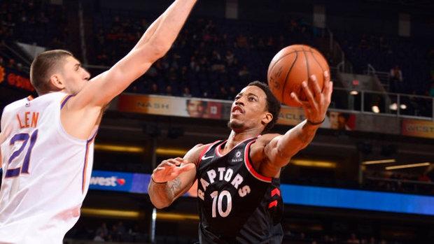 NBA: Raptors 115, Suns 109