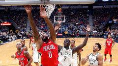 NBA: Bucks 108, Pelicans 115