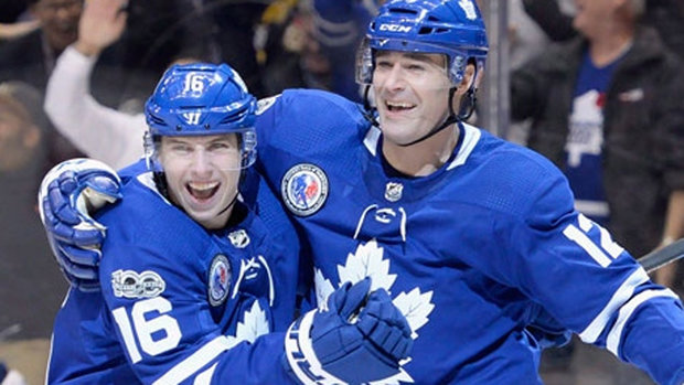 Leafs Ice Chips: Marner moves to line with Marleau, Hyman