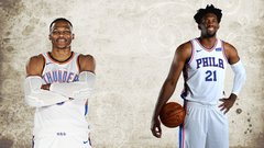 NBA's most interesting man: Westbrook or Embiid?