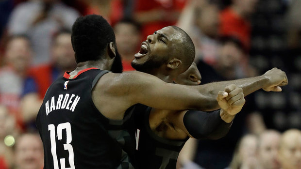 Rockets on pace to compete with Warriors