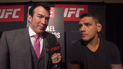 dos Anjos talks about how he continues to grow and get better