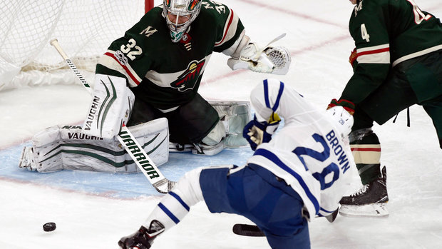 Leafs offence sputtering without Matthews