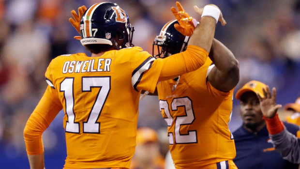 NFL: Broncos 25, Colts 13