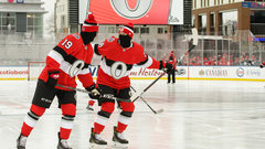 Sens heating up with excitement ahead of 'chilly' outdoor clash with Habs