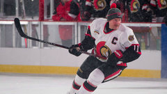 Team Alfredsson crushes Team Phillips in Sens Alumni Classic