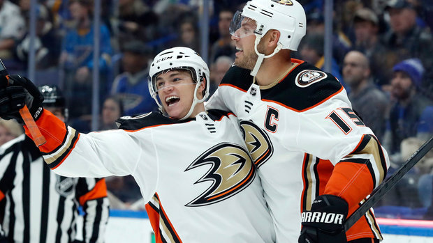 NHL: Ducks 3, Blues 1