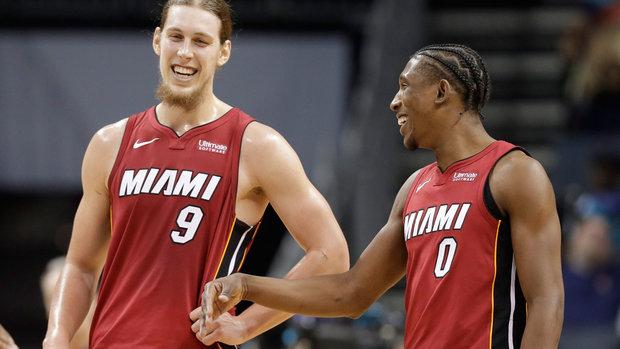 NBA: Heat 104, Hornets 98