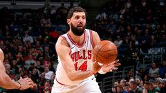 NBA: Bulls 115, Bucks 109