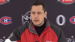 Boucher on Karlsson: 'He's the best defenceman in the world, but doesn't wear a red cape'