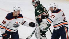 NHL: Oilers 3, Wild 2