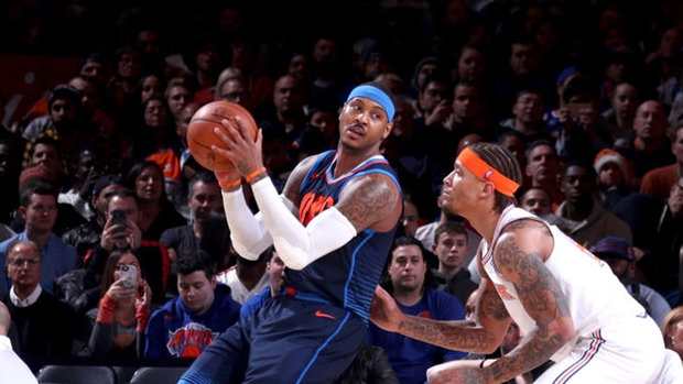 NBA: Thunder 96, Knicks 111