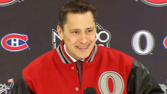 Boucher, Julien having fun but focused on being prepared
