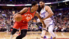NBA: Kings 93, Raptors 108