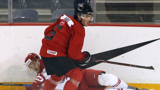 Canada Ice Chips: With Fabbro hurt, Mahura recalled