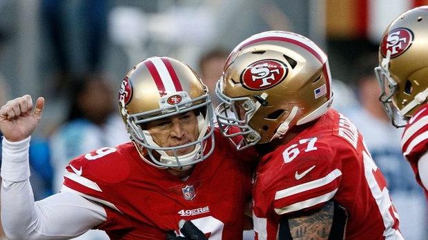 NFL: Titans 23, 49ers 25