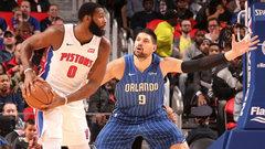 NBA: Magic 110, Pistons 114