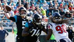 NFL: Texans 7, Jaguars 45