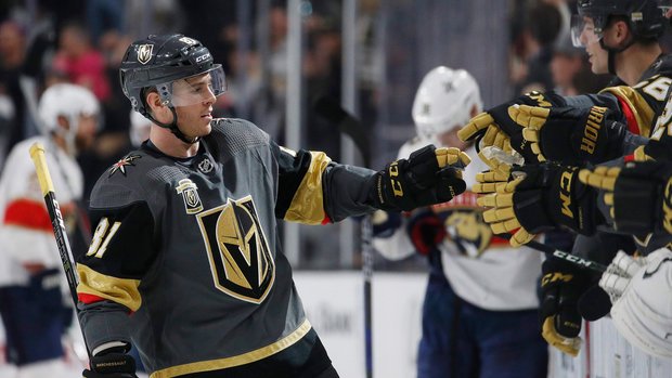 NHL: Panthers 2, Golden Knights 5