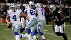 NFL: Cowboys 20, Raiders 17