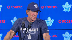 McKenzie: Don't think Babcock ever thinks he needs to change his approach
