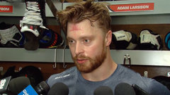 Looking for consistency, Oilers welcome Larsson back