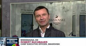 90e5fefab Swarovski launches augmented reality project in Canada. Robert Buchbauer,  CEO ...