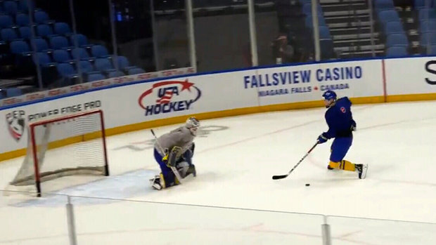 Must See: Dahlin pulls off the 'no move' at practice