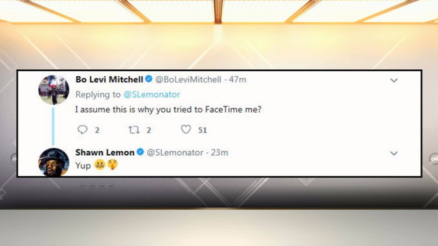 Lemon, Mitchell smack talk carries over to the offseason