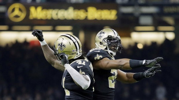 Can Saints' two-headed monster keep rolling vs Falcons?