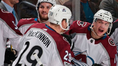 MacKinnon's ability to change speed fools Panthers