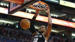 NBA: Spurs 104, Suns 101