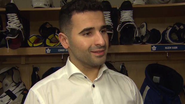 Kadri benefiting from good offseason and increased matchup role