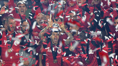Must See: Toronto FC hoists MLS Cup