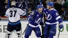 NHL: Jets 3, Lightning 4 (OT)