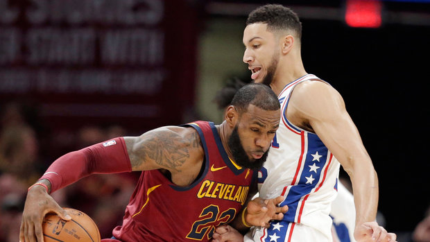NBA: 76ers 98, Cavaliers 105