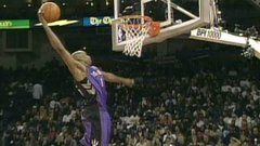 Vince Carter dunking through the ages