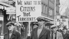 #Canada150: The Great Depression hits