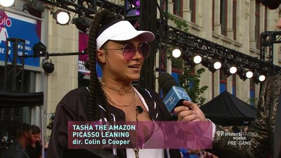 Tasha the Amazon wins Best Hip Hop Video for 'Picasso Leaning'