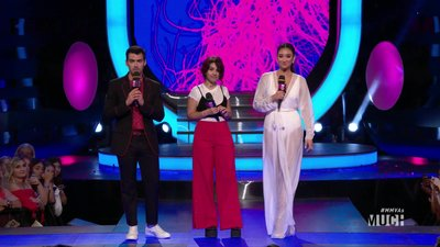 Shay Mitchell Joins Alessia And Joe To Introduce Julia Michaels