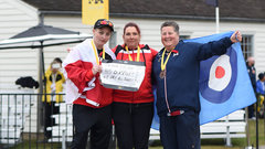 Canada earns gold and silver in women's archery