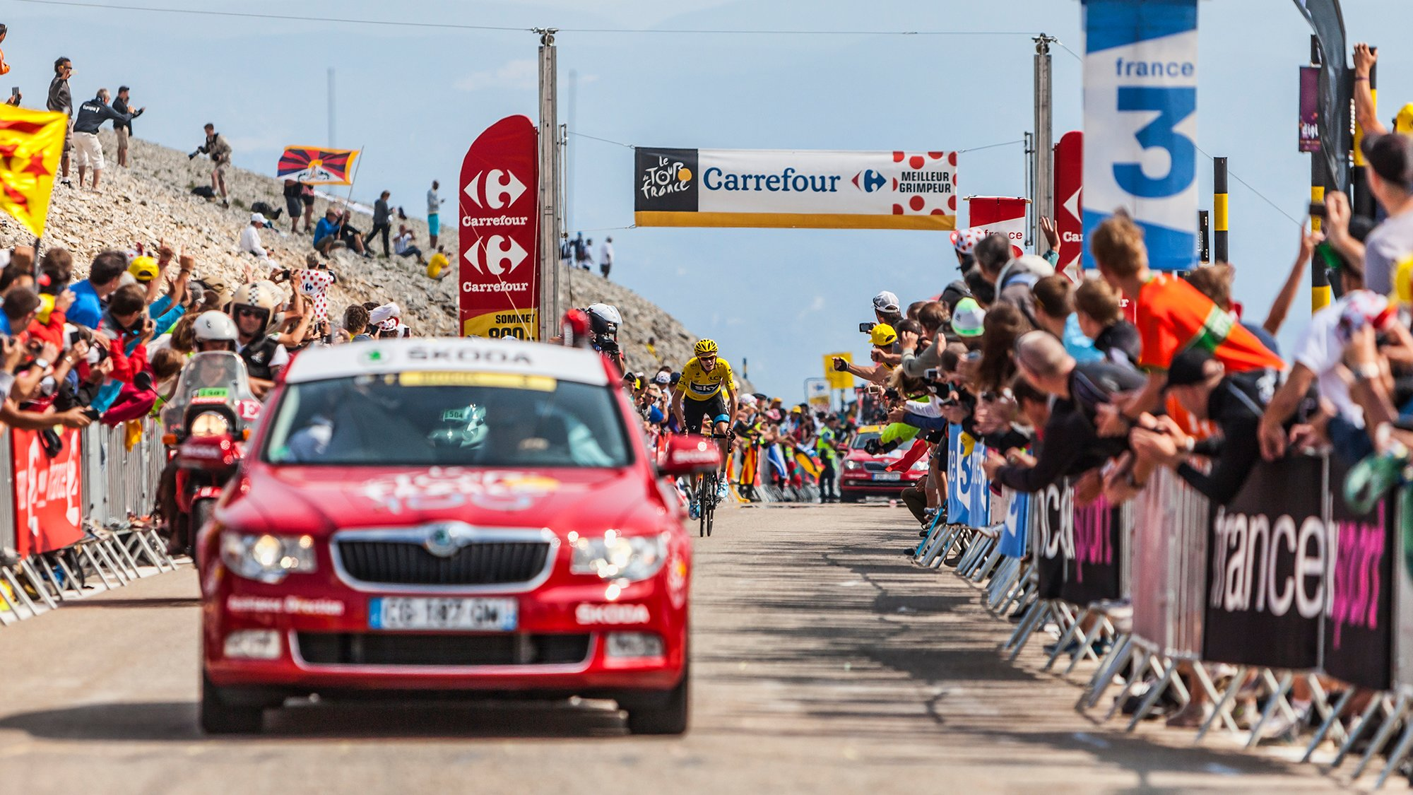 Riding the Tour de France: Livin' the Dream