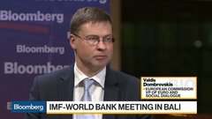 EU's Dombrovskis on U.S. Trade, Brexit, Iran Nuclear Deal